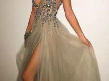 Stunning prom gowns sexy long evening dresses modest ...