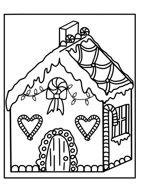 Christmas Coloring Book PDF on Storenvy