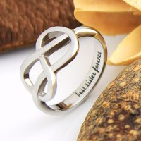 TZARO JEWELRY | Sisters Ring, Infinity Ring, Promise Ring ...