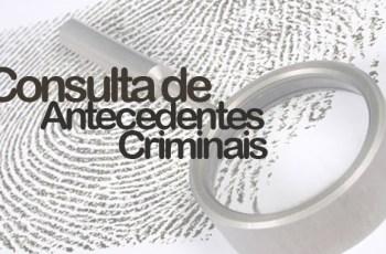Atestados de antecedentes criminais serão objetos de audiência pública