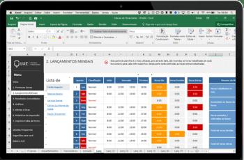 Planilha de Horas Extras com Banco de Horas em Excel (Turno Diurno)