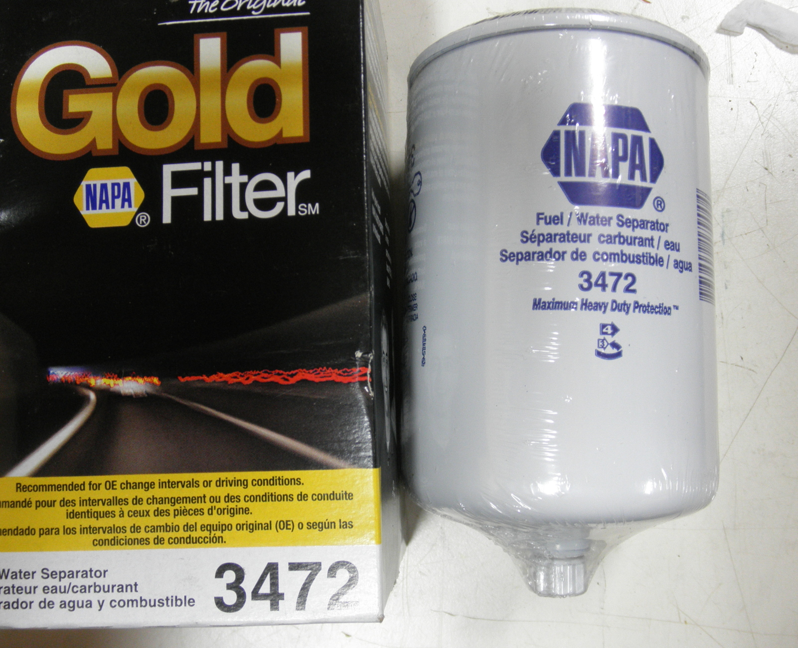 hight resolution of napa 3472 fuel filter water separator 2910 01 201 7719 also 33472 p3522a dp equipment llc