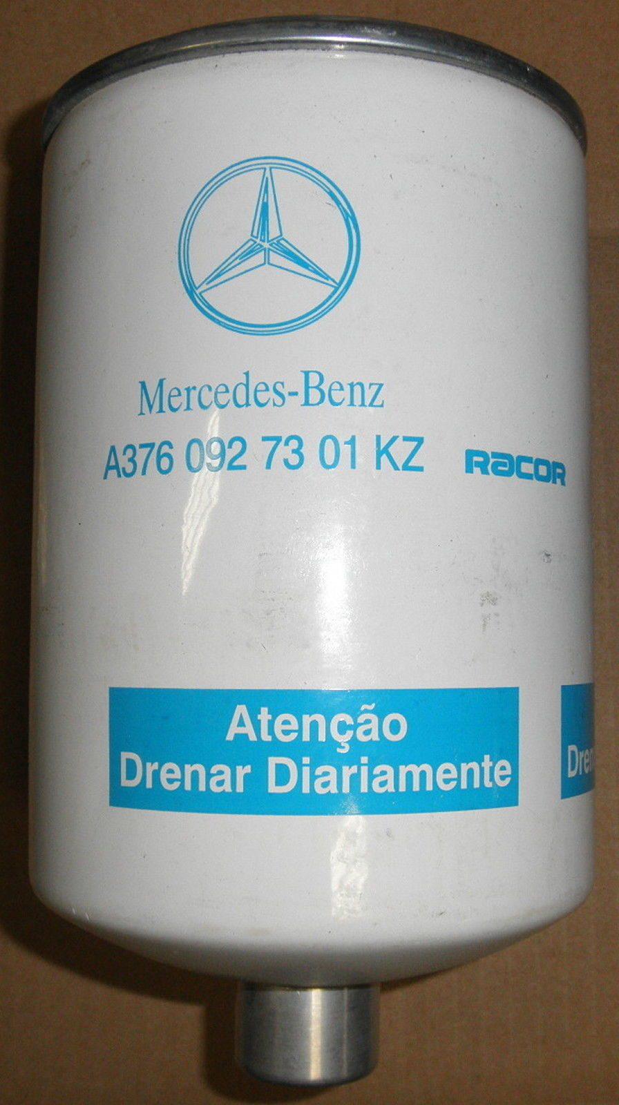 hight resolution of oem mercedes freightliner fuel filter separator a3760927301kz racor f1hz9365 a