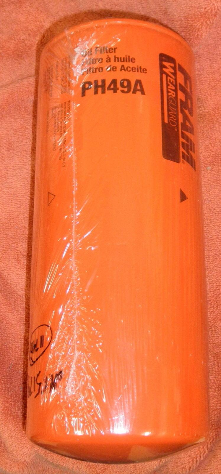 medium resolution of fram ph49a wix 51791diesel engine oil filter cat 3126b c7 3306 3304 3116 3046