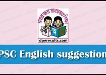 PSC English suggestion 2019