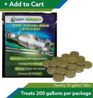 DPF Remedy 10 Gallon tablets
