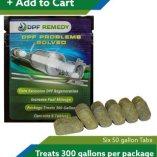 DPF Remedy 50 Gallon tablets