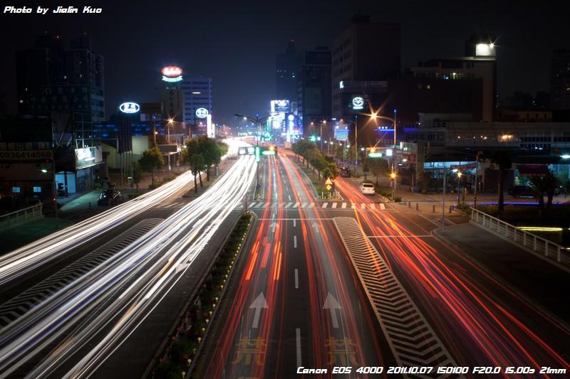 夜間拍攝車軌的小要訣   看見心視界 攝影工作室