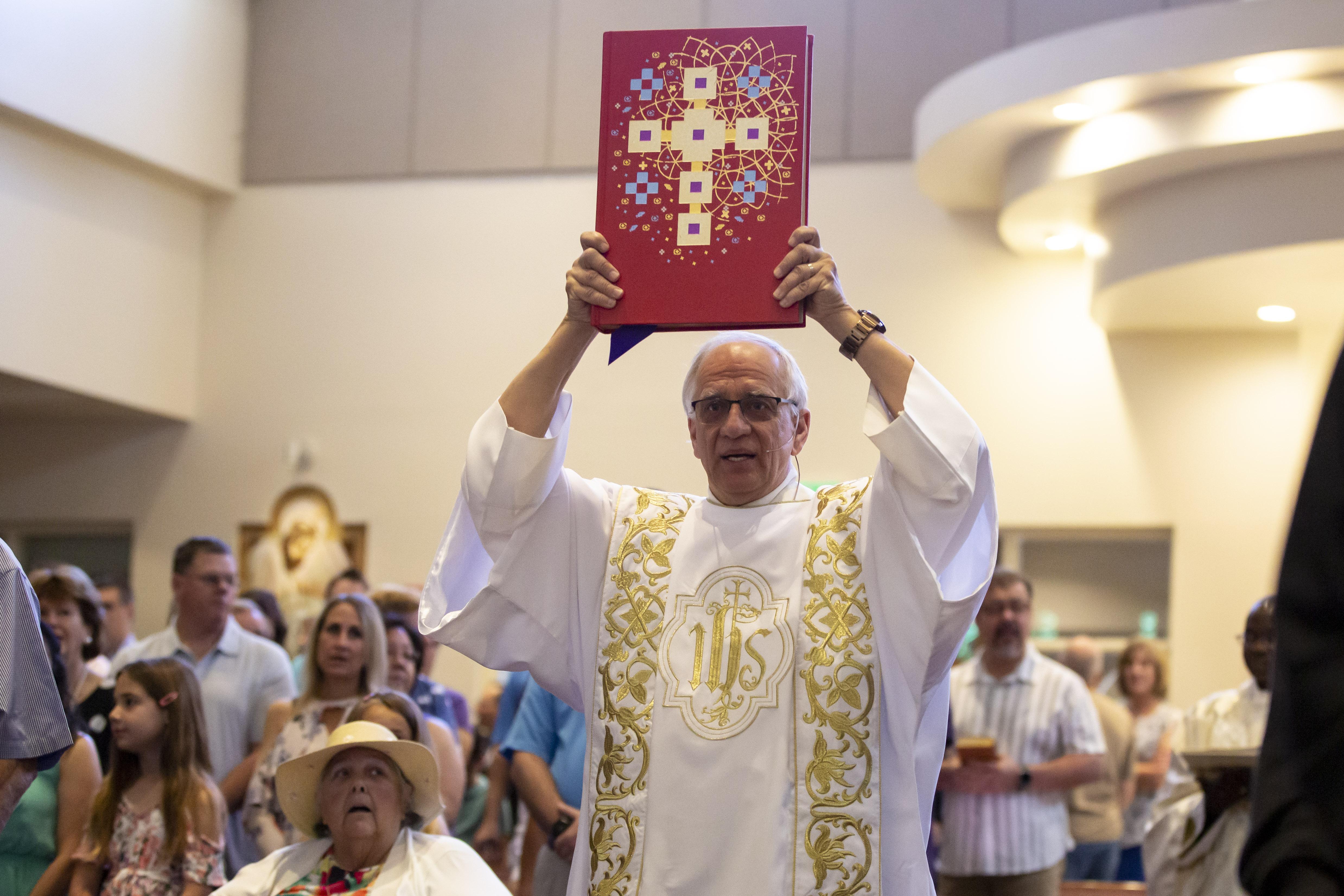 The Mass Liturgy Of The Word