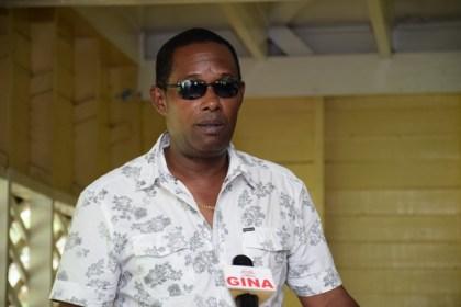Police 'A' Division Commander Clifton Hicken