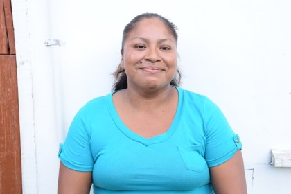 Renita Ignatius, participant of the Hinterland Employment Youth Service (HEYS) programme at Hururu Mission, Berbice River