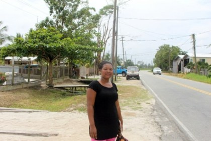 Angelina Richmond, a Timehri resident