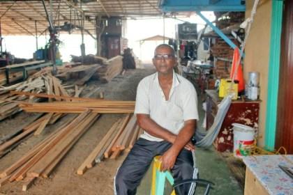 A. Khan, Manager of Khan's Sawmill