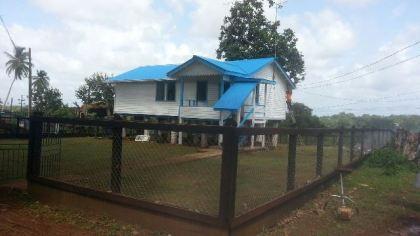 1.The Building which houses Radio Mabaruma