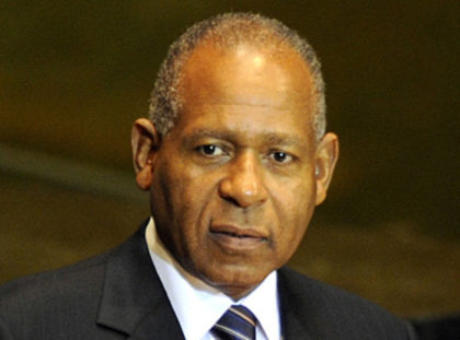 The Late former Prime Minister of Trinidad and Tobago Patrick Manning