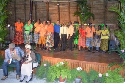 Korokwa Folk Singers (the folk arm of the renowned Woodside Choir)
