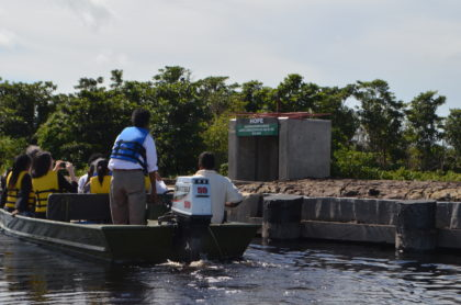 Hope water control sluice rehabilitated under phase II