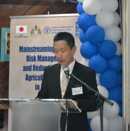Japan's Ambassador to Trinidad and Tobago His Excellency, Mitsuhiko Okada