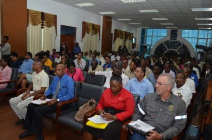 A section of the audience at the Mining Safety seminar