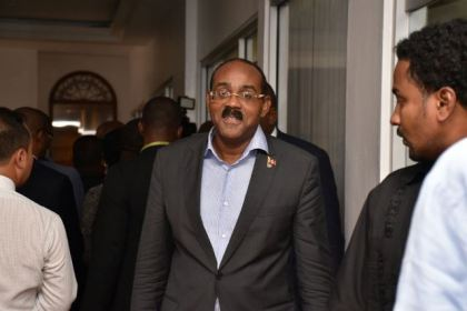 Antigua and Barbuda's Prime Minister, Gaston Browne