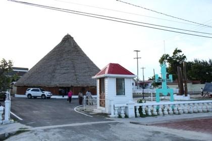 The newly reconstructed Umana Yana