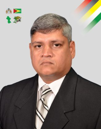 Minister in the Ministry of Finance, Jaipaul Sharma