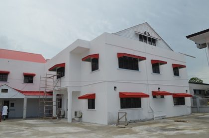 The new maternity ward at the Georgetown Public Hospital Corporation (GPHC)