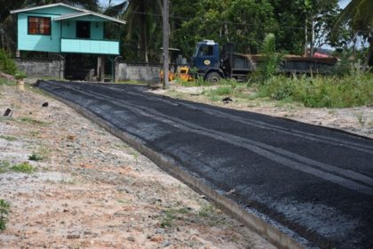 Ongoing rehabilitation works in Mackenzie, Linden