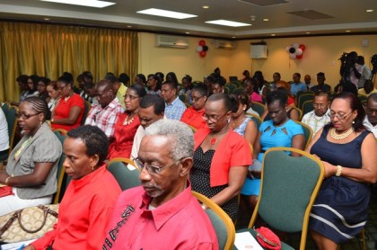 A section of the delegates at the opening of the Clerical and Commercial Workers Union conference at Cara Lodge