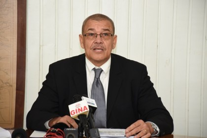 Godfrey Statia, Commissioner, Guyana Revenue Authority