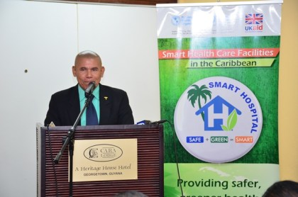 Minister of Public Health, Dr. George Norton