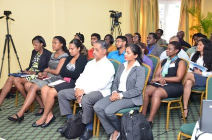 A section of the gathering at the launch of the Hospital Safety Index and Green Checklist course