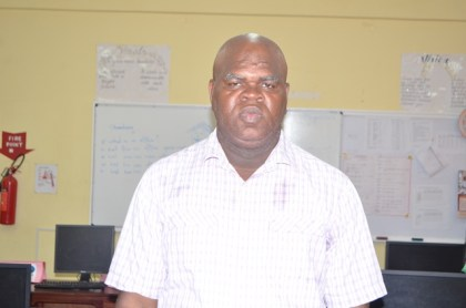 Principal of the Leonora Technical and Vocational Institute, Eon Nicholson