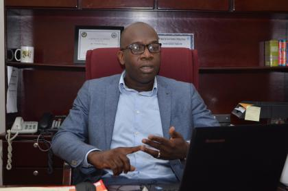 Manager of the Citizen Security Strengthening Programme, Clement Henry