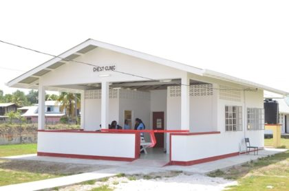 The National Tuberculosis Programme's chest clinic at the West Demerara Regional Hospital, Region Three