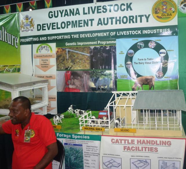 GLDA booth at Berbice Expo