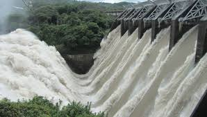 Photo of a hydropower plant