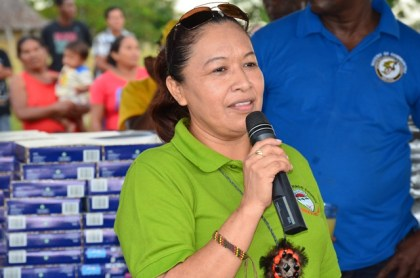 Minister within the Ministry of Communities Hon. Dawn Hasting- Williams