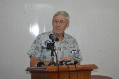 Ben ter Welle, Honorary Dutch Consul to Guyana