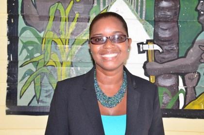 Chandrina Welcome-Lee, Headteacher, Brickdam Secondary School