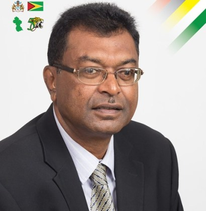 Minister of Public Security, Khemraj Ramjattan