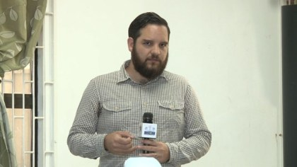 Development Manager of the National Museum of the Mexico Sebastian Alcocer