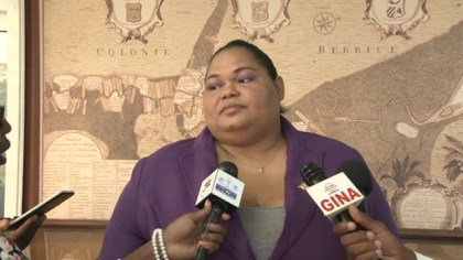 Archivist of the National Archives of Guyana Nadia Carter