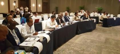 agriculture-minister-noel-holder-and-other-regional-representatives-during-the-first-day-of-the-meeting