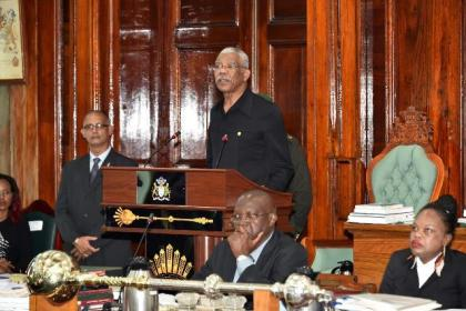 President David Granger said that  his Government's legislative agenda will ensure good governance, transparency and a safe country for all.