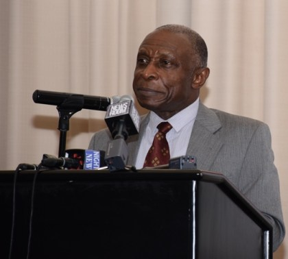Vice President and Minister of Foreign Affairs Carl Greenidge