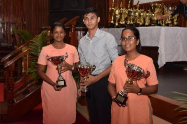The CSEC Best Junior Performers