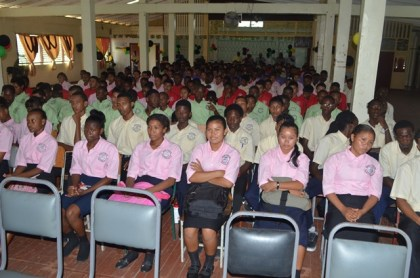 Youths enrolled in the Youth Entrepreneurial Skills Training Programme