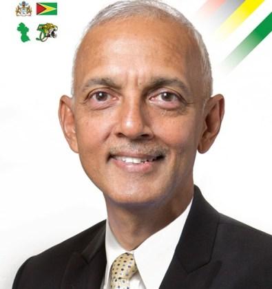 Minister of Communities Hon. Ronald Bulkan