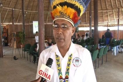 Joel Fredericks, Toshao of (Mainstay) Wyaka, Region Two
